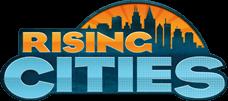 logo rising cities
