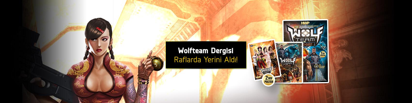 Wolfteam Dergisi Bayilerde