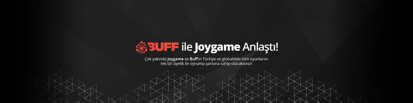 Buff ile Joygame Anlaştı!