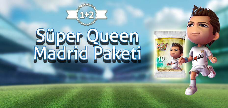 Süper Queen Madrid Paketleri'nde 1+2 Fırsatı