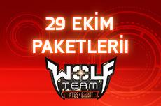 joygame wolfteam 29 ekim paketleri