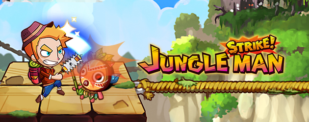 jungle man strike mobil oyunlar rotator