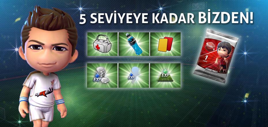 Goley Oyuncuları Farklıdır! Sen de Oyna, Sen de Kazan!