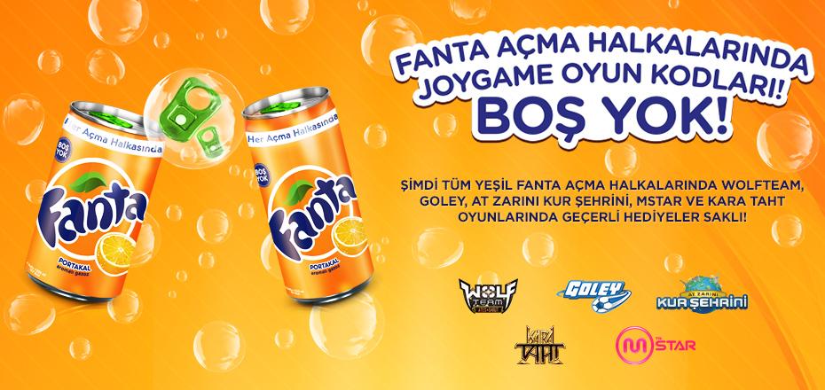 Oyunun Tadını Fanta ve Joygame İle Çıkarmaya Devam