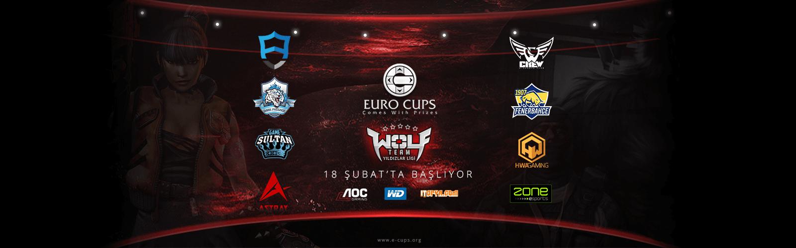 Euro Cups Wolfteam Yıldızlar Ligi 18 Şubat'ta başlıyor!