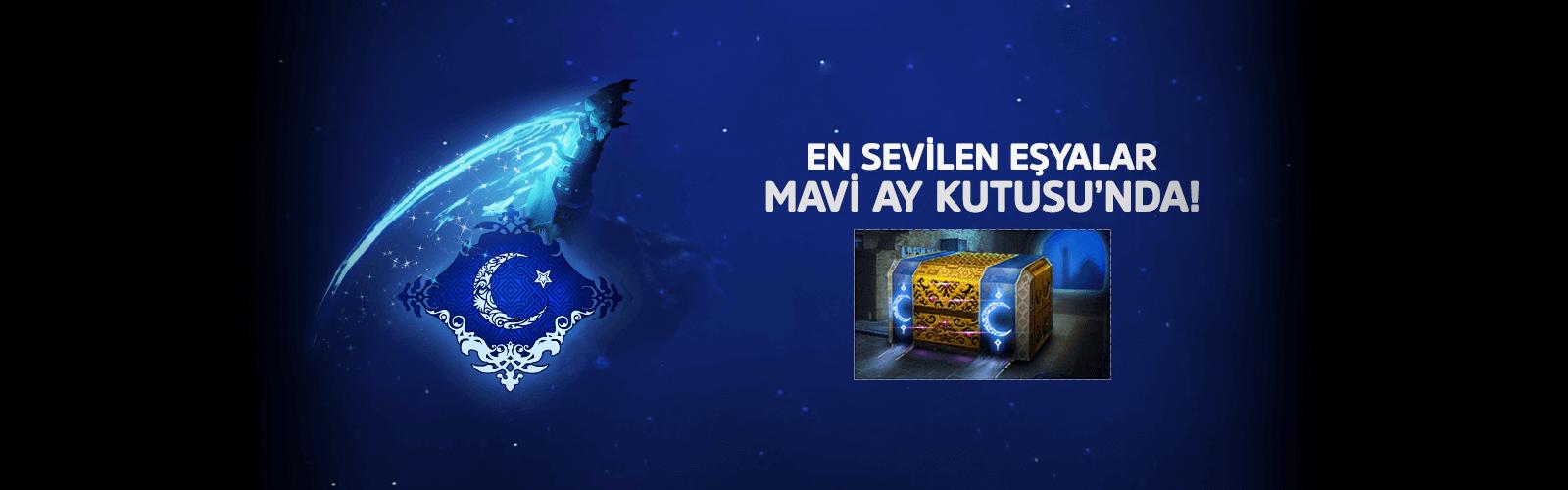 Mavi Ay Kutusu Premium Dükkan'da!