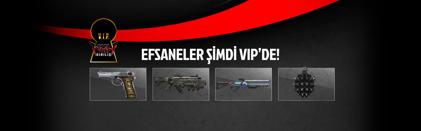 VIP İlk Alan Yenilikleri (Ağustos 2016)