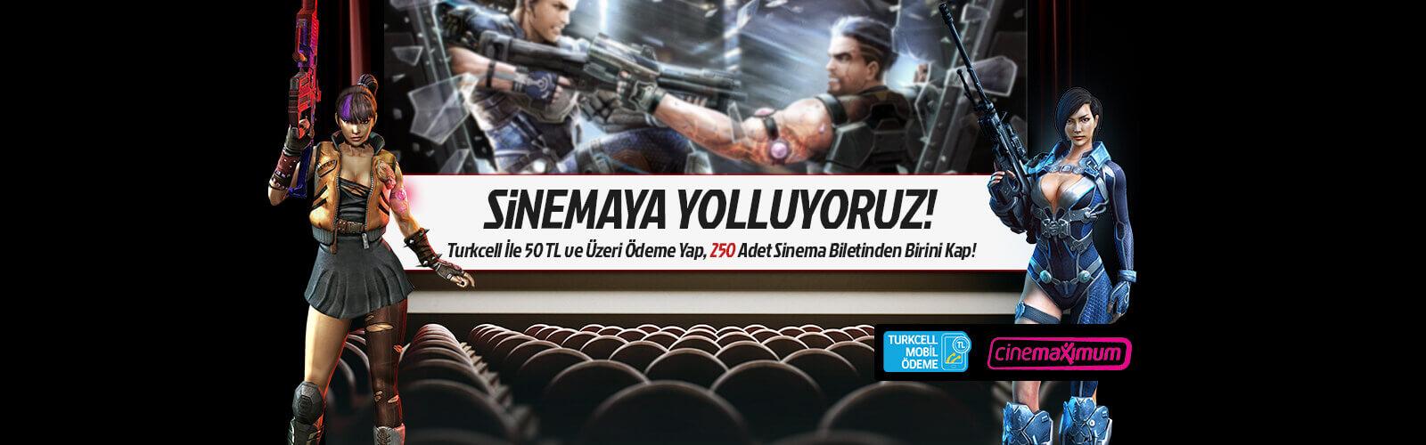 Mobil Ödeme Sinema Bileti Kazandırıyor!