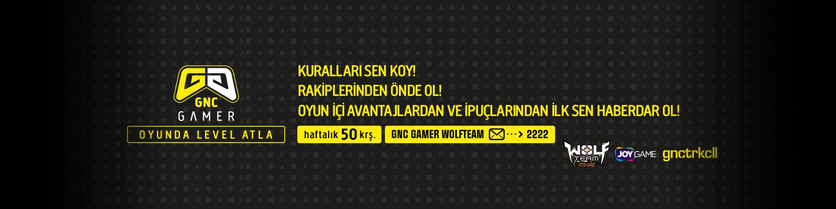 GNC Gamer Servisi