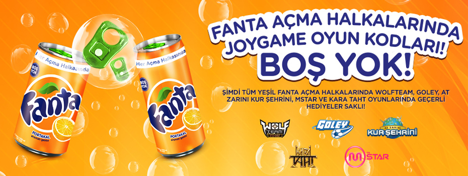 Fanta İç, Joygame Oyun İçi Hediyeyi Kap!