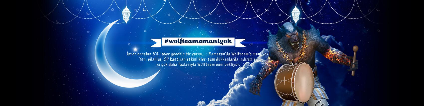 Wolfteam Ramazan Özel