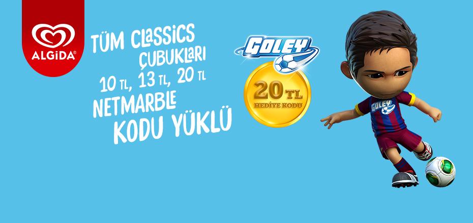 Algida Classics Goley'de Kazandırıyor!
