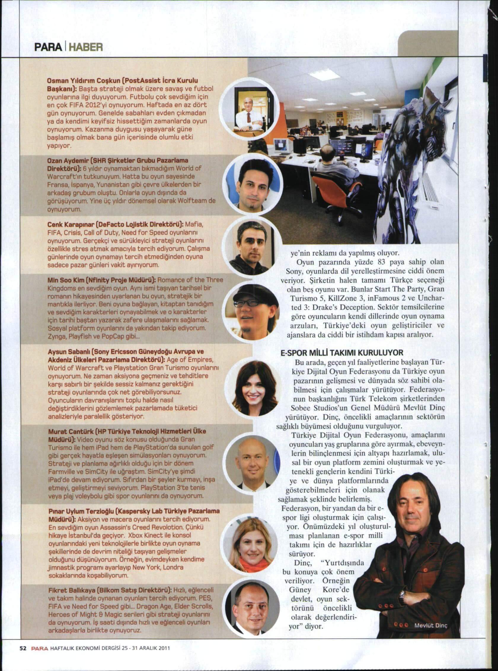 joygame basin yansimalari para dergi 25 aralik haberi