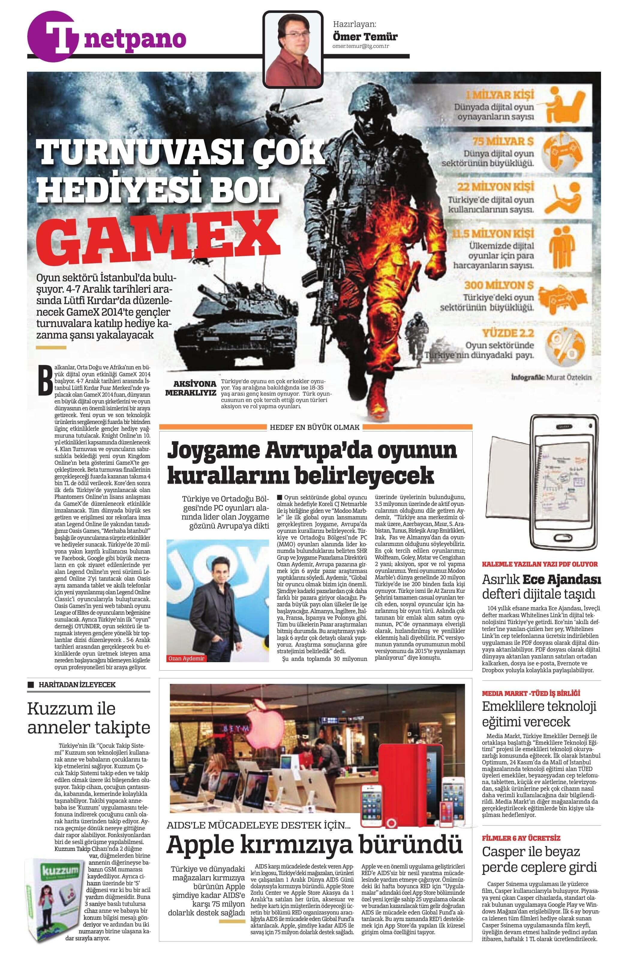 joygame basin yansimalari turkiye 2014