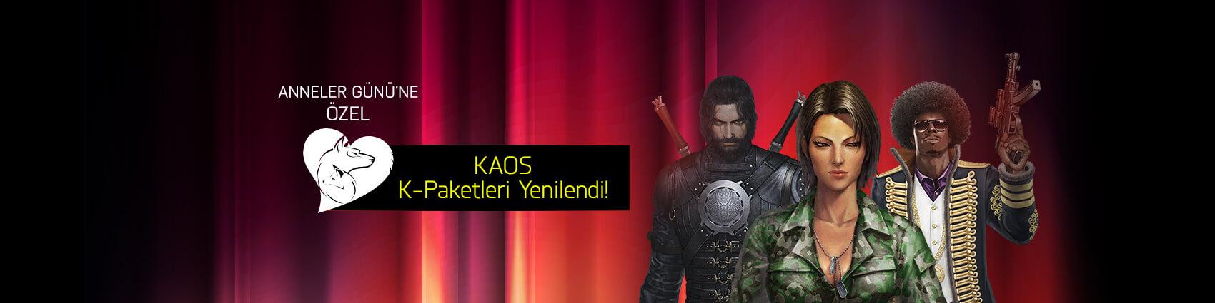 KAOS K-Paketleri