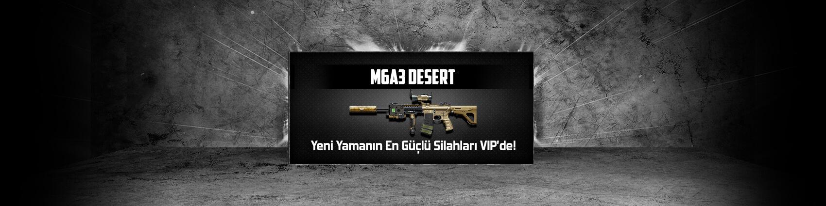 M6A3 Desert