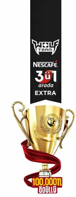 Nescafe 3'ü 1 arada Extra Turnuvası
