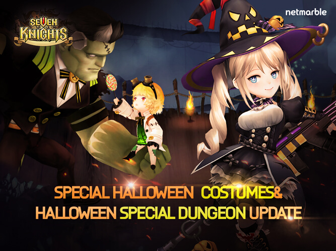 Halloween comes to Seven Knights!