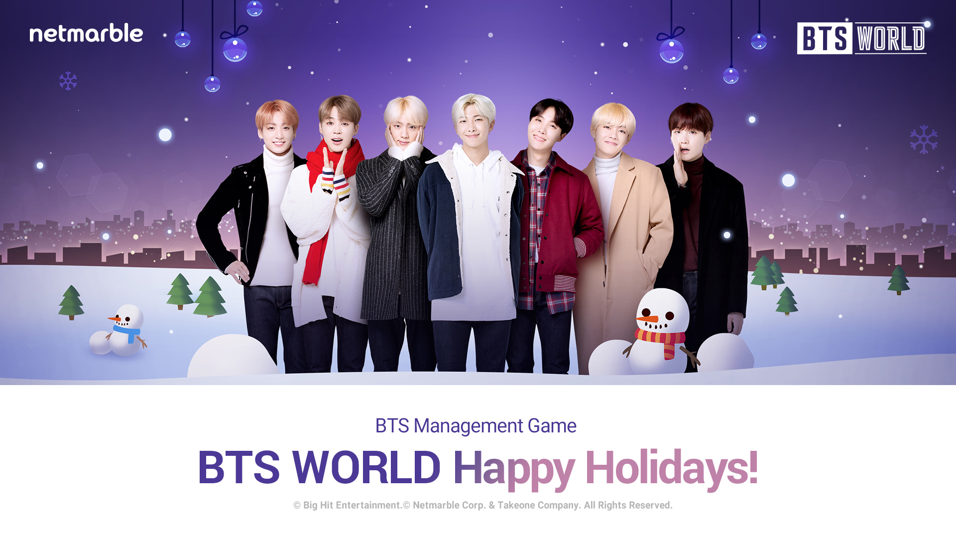 bts world winter guncelleme netmarble